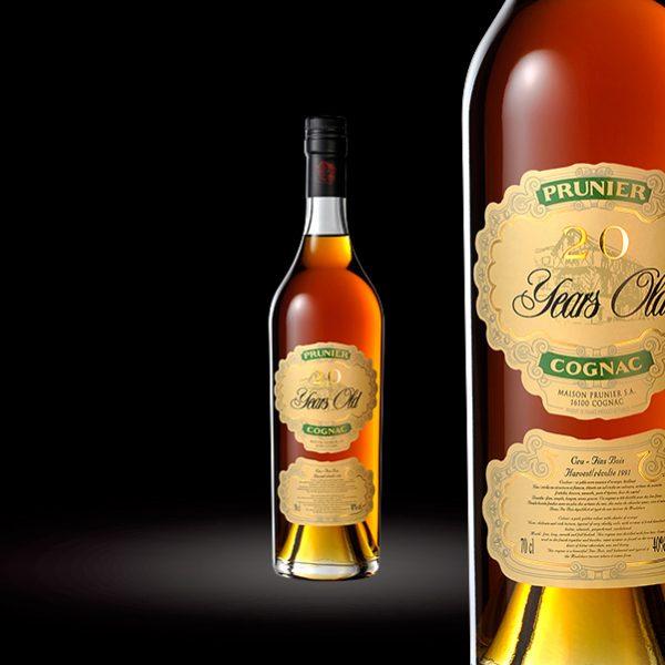 Cognac 20 ANS Maison Prunier
