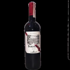 Bordeaux red wine